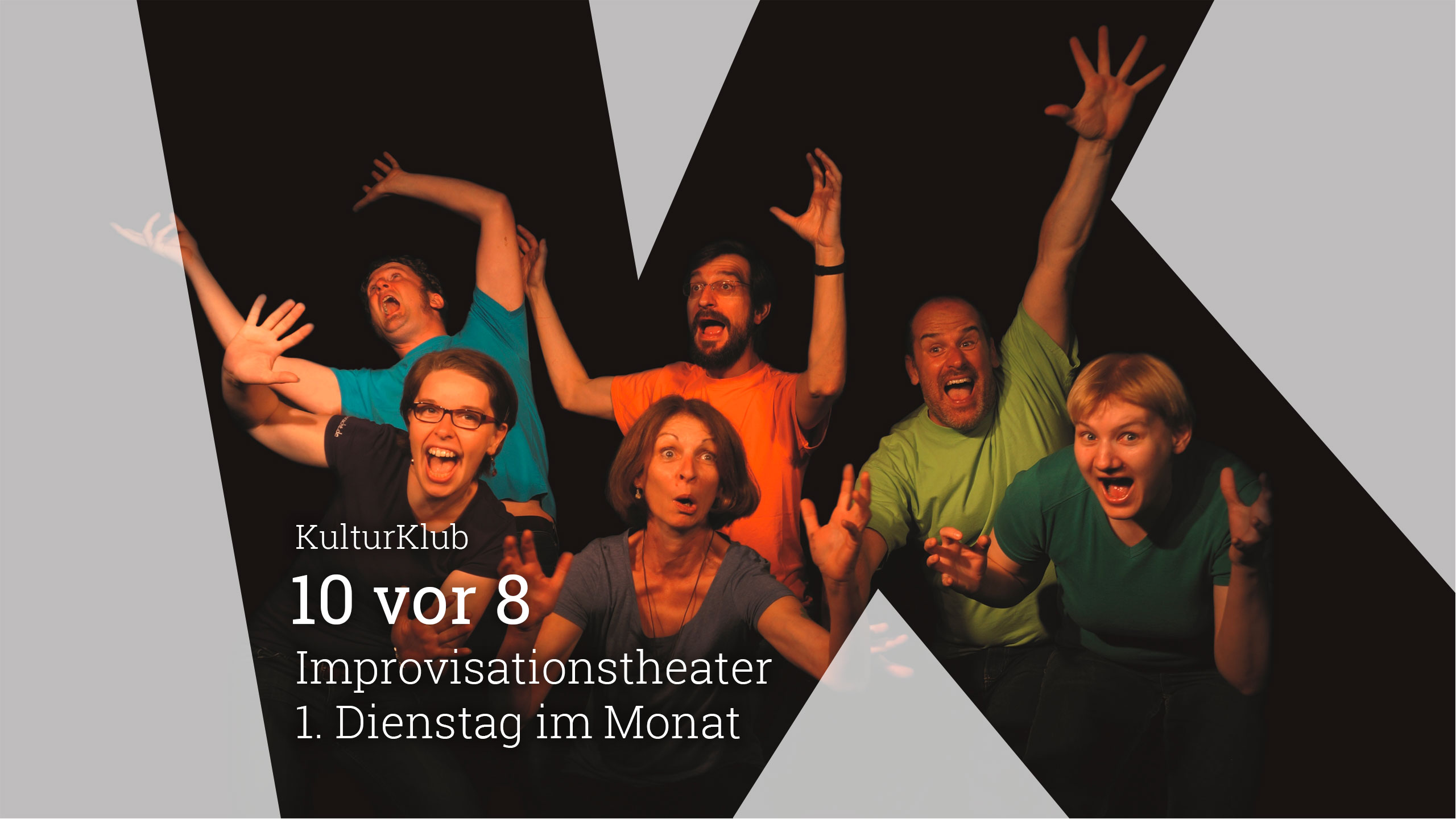 10 vor 8 Improvistationstheater